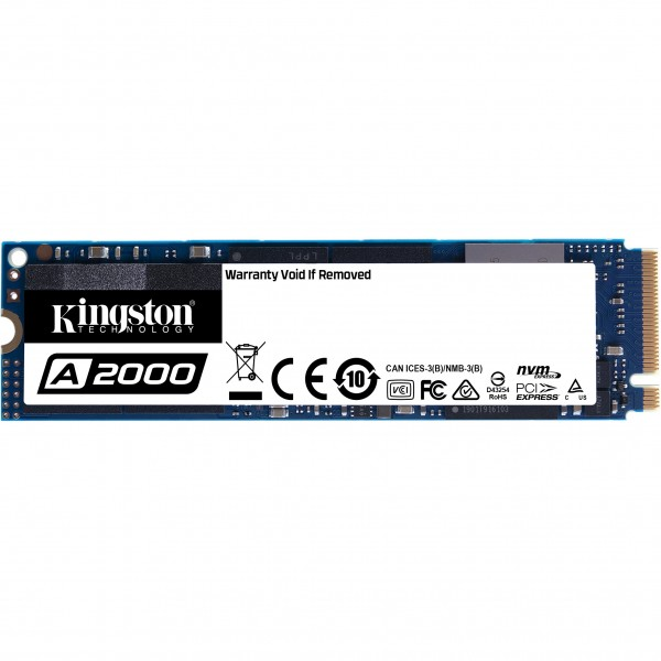 M.2 1TB Kingston A2000 NVMe PCIe 3.0 x 4