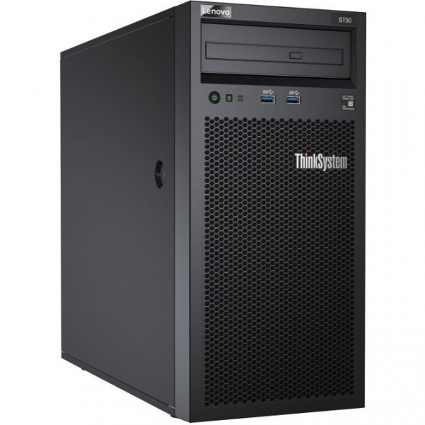 Lenovo ThinkSystem ST50 E-2124G 8GB Tower (4U) 250W 2x2TB