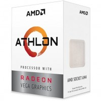 AMD AM4 Athlon Box 3000G 3,5GHz 2xCore 4MB Cache with Readeon Vega 3 Graphics