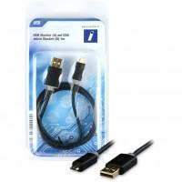 USB A-B micro ST-ST 1m | Innovation IT