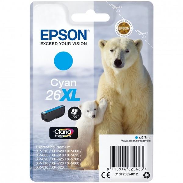 Epson C13T26324012 cyan HC