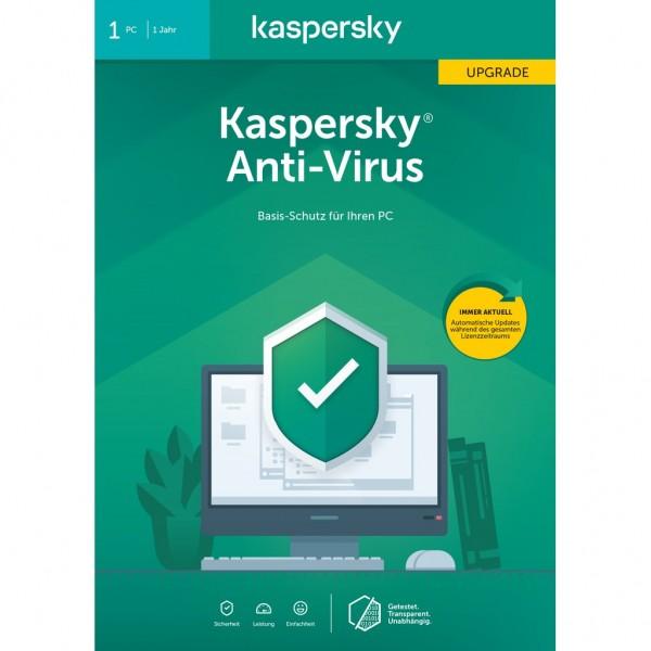 Kaspersky Anti-Virus Upgrade (Code in a Box) (FFP) 2020