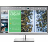 "60,5cm/23,8"" (1920x1080) HP EliteDisplay E243 Full HD IPS USB-HUB VGA HDMI DP Pivot black Silber"