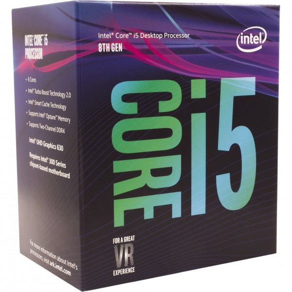 Intel S1151 CORE i5 8400 BOX 6x2,8 65W