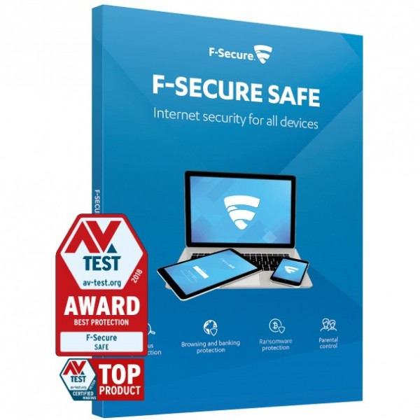 ESD F-SECURE SAFE Internet Security - 5 Devices 1 Year