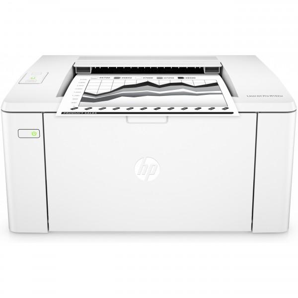 L HP LaserJet Pro M102w 23S. WLAN