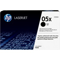 HP # 05X CE505X black Hohe Kapazität