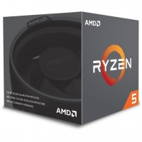 AMD AM4 Ryzen 5 6 Box 2600 3,90 GHz 6xCore 19MB 65W with Wraith Stealth cooler