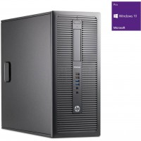 PC HP EliteDesk 800 G1 i5-4590 (4x3,3) / 8GB DDR3 / 256GB SSD + 500GB HDD / Win 10 Pro / Tower