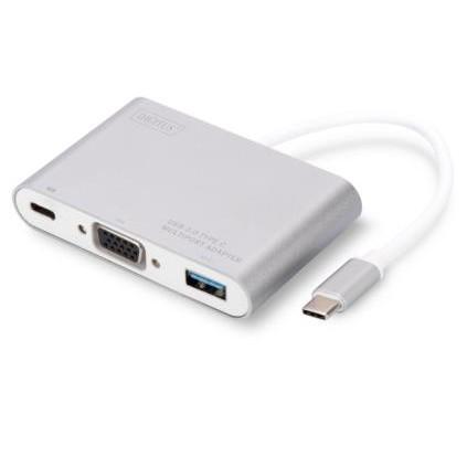 USB C > Multi Adapter (USB 3.0; VGA; USB C) Digitus