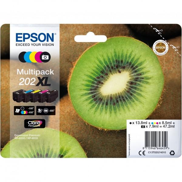 Epson 202 C13T02G74010 CMYK + photo black