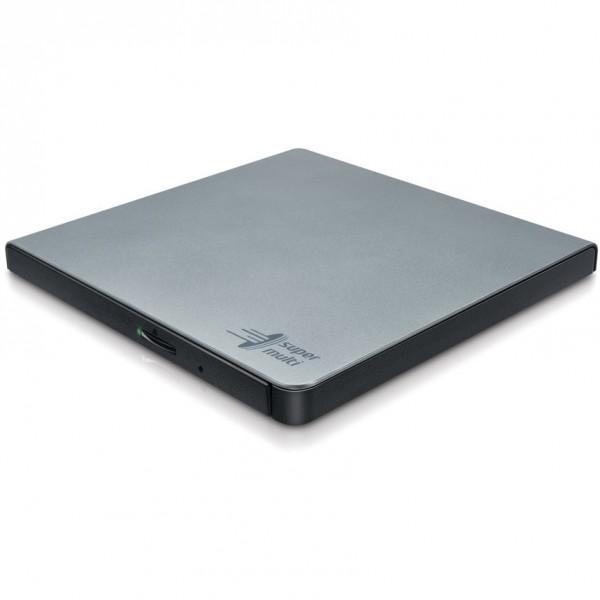 Externer DVD-Brenner HLDS GP57ES40 Slim USB silver