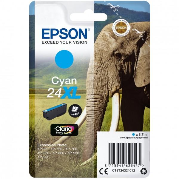 Epson C13T24324012 cyan HC