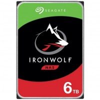 6TB Seagate IronWolf ST6000VN001 5400RPM 256MB