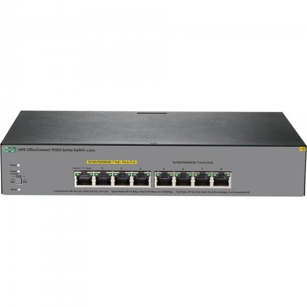 HP Enterprise OfficeConnect 1920S 8G PPoE+ (65W) Switch