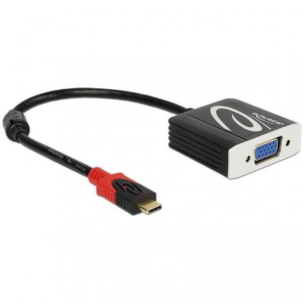 USB C > Adapter VGA Buchse Delock