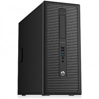 PC HP 600 G1 i3-4130 (2x3,4) / 4GB DDR3 / 128GB SSD + 500GB HDD/ Win 10 Pro / Tower / DVD