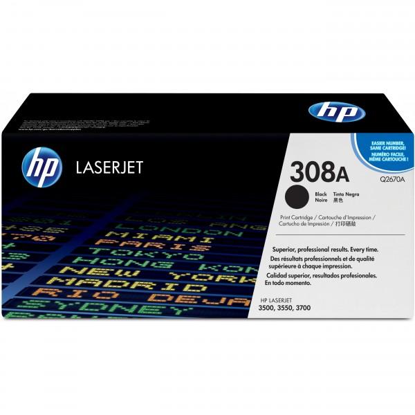 HP # 308A Q2670A black