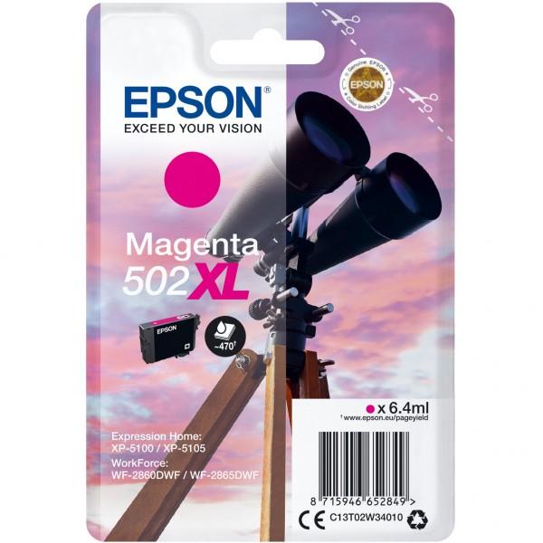 Epson 502 C13T02W34010 magenta HC