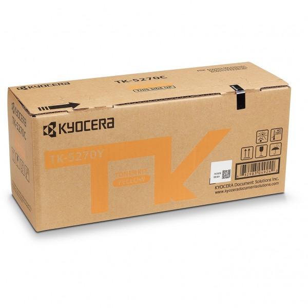Kyocera TK-5270Y yellow Lasertoner 6000 Seiten