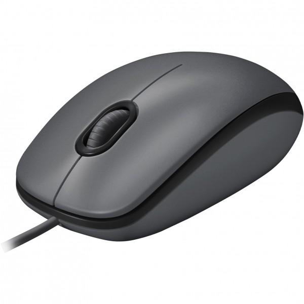 Logitech M100 black USB