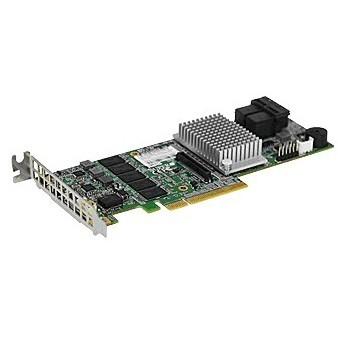 RAID SATA/SAS PCIe 8x SuperMicro S3108L-H8IR-16DD (Chip: LSI 3108)