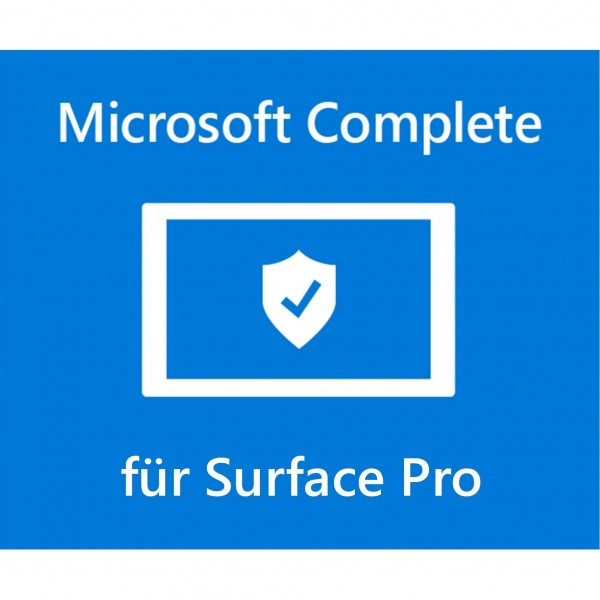 Microsoft Surface Pro Complete 2 Jahre