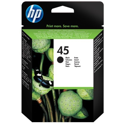 HP # 45 51645AE black